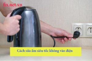 cách sử dụng ấm siêu tốc không vào điện