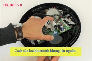 cách sửa loa bluetooth không lên nguồn