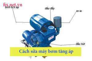 cách sửa máy bơm nước tăng áp