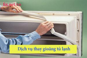 dịch vụ thay gioăng tủ lạnh